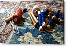 Antique Tapestry Repair  Acrylic Print