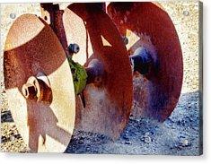 Antique Tilling Plow Acrylic Print