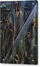 Acrylic Print featuring the photograph Antique Tools by Joanne Coyle