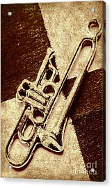 Antique Trumpet Club Acrylic Print