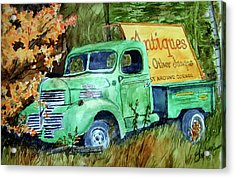 Antiques And Other Junque Acrylic Print by Ron Stephens