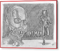 Antman Acrylic Print by Chris DelVecchio