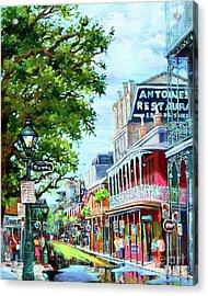 Antoine's Acrylic Print