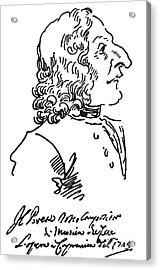 Antonio Vivaldi (c1675-1741) Acrylic Print by Granger