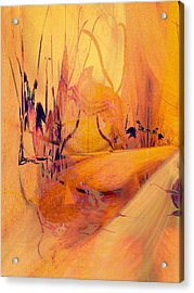 Antsy Series - Life's A Stage Acrylic Print