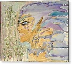 Anunnaki God Of The Ancients Acrylic Print by KD Martel