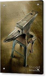 Anvil And Hammer Acrylic Print by YoPedro