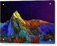 Anza Borrego Desert Peak Acrylic Print