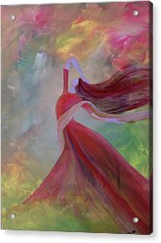 Aoide Acrylic Print by Trilby Cole