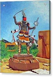 Apache Mountain Spirit Dancer Acrylic Print