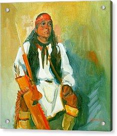 Apache Urban Warrior Acrylic Print