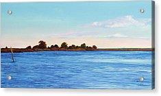 Apalachicola Bay Autumn Morning Acrylic Print