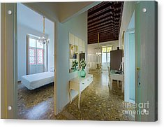 Acrylic Print featuring the photograph Apartment In The Heart Of Cadiz 17th Century Spain by Pablo Avanzini