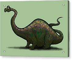 Apatosaurus  Acrylic Print by Kevin Middleton