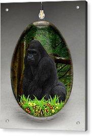 Ape Gorilla Art Acrylic Print