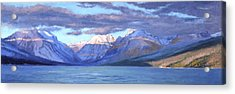 Apgar Winter Panorama Acrylic Print by Jeff Troupe