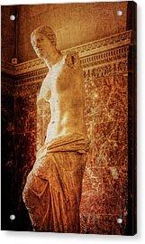 Aphrodite Of Milos Acrylic Print by JAMART Photography