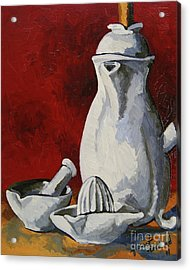Acrylic Print featuring the painting Apilco No. 4 by Erin Fickert-Rowland