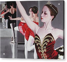 Aplomb Acrylic Print by Denny Bond