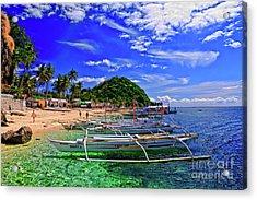 Apo Island Acrylic Print
