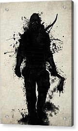 Apocalypse Hunter Acrylic Print by Nicklas Gustafsson