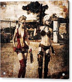 Apocalypse War 2 Acrylic Print