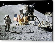 Apollo 15: Jim Irwin, 1971 Acrylic Print by Granger