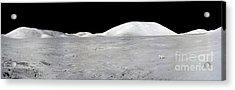Apollo 17 Panorama Acrylic Print by Stocktrek Images