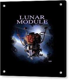 Apollo 9 Lm Acrylic Print