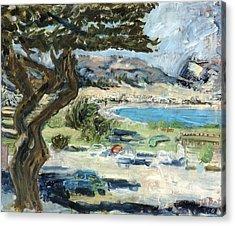 Apollo Bay Acrylic Print by Joan De Bot