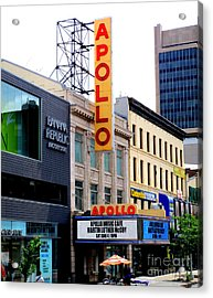 Apollo Theater Acrylic Print by Randall Weidner