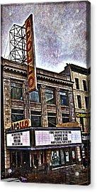 Apollo Theatre, Harlem Acrylic Print