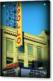 Apollo Vignette Acrylic Print by Ed Weidman