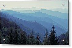 Appalachian Blue Acrylic Print