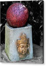 Appalachian Buddha   Acrylic Print by Steven Digman