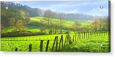 Appalachian Spring Morning Acrylic Print by Francesa Miller