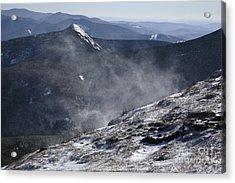 Appalachian Trail - Franconia Ridge-white Mountains New Hampshire Acrylic Print by Erin Paul Donovan