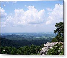 Appalachian Valley - 11 Acrylic Print by Donovan Hubbard