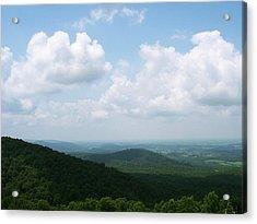 Appalachian Valley - 8 Acrylic Print by Donovan Hubbard