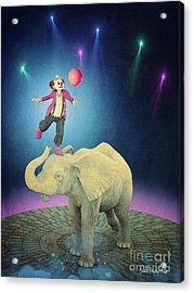 Acrylic Print featuring the digital art Applause by Jutta Maria Pusl