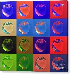 Apple 33 Acrylic Print by Flo Ryan