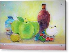 Apple A Day Acrylic Print