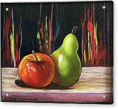 Apple And Pear Acrylic Print