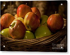 Apple Basket Acrylic Print