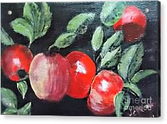Apple Bunch Acrylic Print
