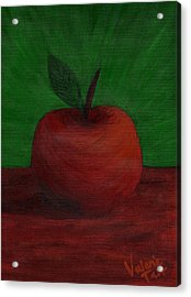 Apple Of My Eye Acrylic Print by Valerie Tait