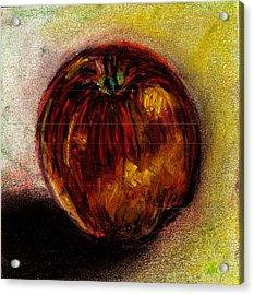 Apple  Acrylic Print by Rashmi Rao