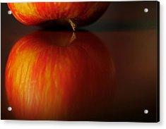 Apple Reflection Acrylic Print
