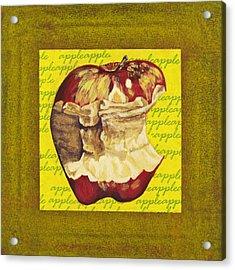 Apple Series Number Five Acrylic Print by Sonja Olson