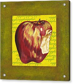 Apple Series Number Two Acrylic Print by Sonja Olson